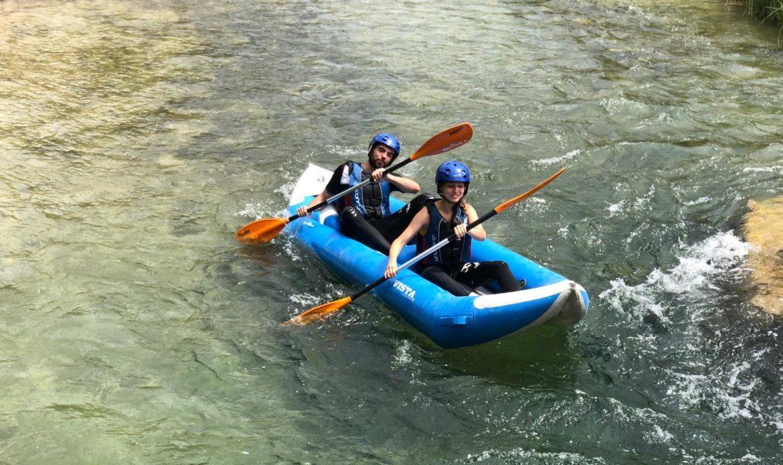 qué es canoa raft